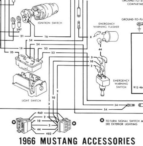 wiring diagram for 66 mustang ignition switch readingrat net