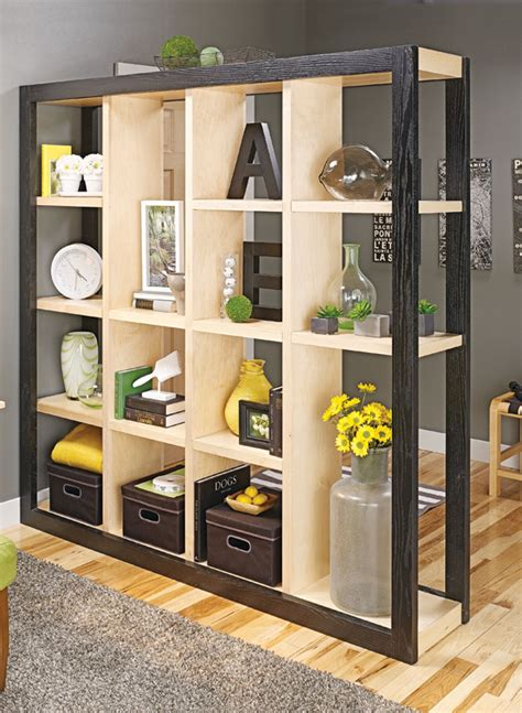 freestanding room divider woodworking project
