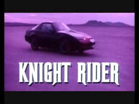 theme music knight rider knight rider theme song intro instrumental original