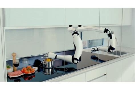 Robot Kitchen by Forget Top Chef This Robot Chef Can Wow Your Tastebuds