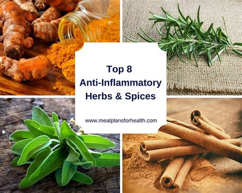 8 Must Herbs And Spices by Top 8 Anti Inflammatory Herbs Spices Functional