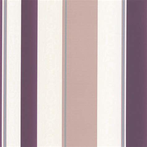 purple taupe paint erismann poppy striped wallpaper purple cream taupe
