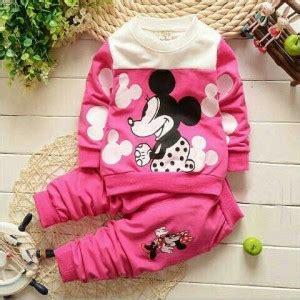 Setelan Navy Baju Anak Fit 3 Thn Murah setelan baju celana panjang mickey mouse anak perempuan terbaru murah