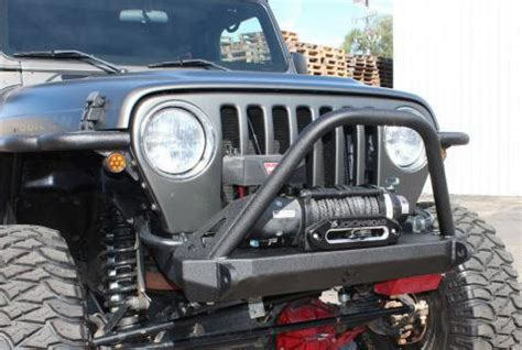 Jeep Liberty Winch Bumper Jcr Offroad Dagger Stubby Front Winch Bumper For 87 95