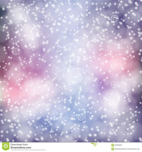 white fluffy lights winter background stock vector image 63203960