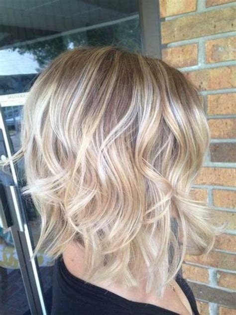 bob blonde ombre short layered hair the best short hairstyles for women 2016