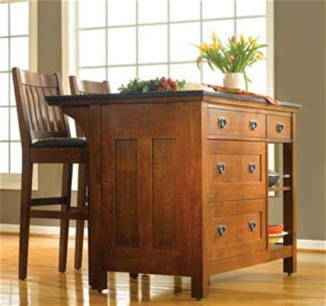 mission style kitchen island stickley kitchen island w drawers kitchen pinterest
