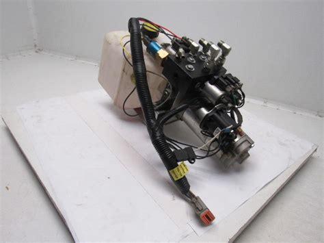 lippert lci  hydraulic  valve pump assembly bullseye industrial sales