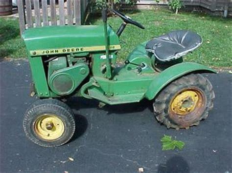 Antique Tractors 1965 John Deere 110