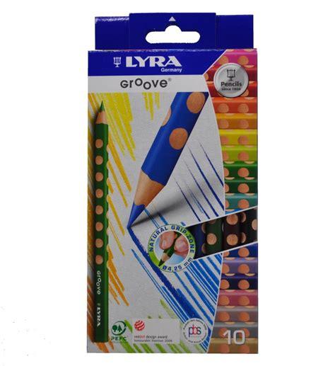 lyra colored pencils lyra groove coloured pencils