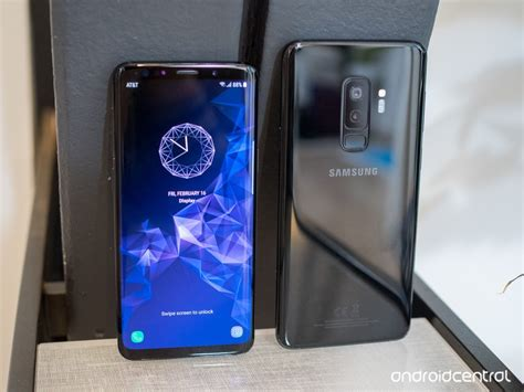 Samsung Galaxy S9 samsung galaxy s9 and s9 on preview the gets better android central