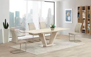 12 Seat Dining Table Extendable Cream Extending Glass High Gloss Dining Table And 8 Taupe