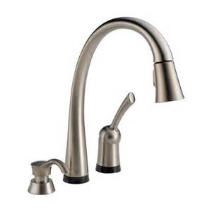 delta pilar kitchen faucet delta 980t sssd dst pilar single handle pull kitchen