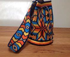 pattern library sle mochila wayuu on pinterest bohemian bag colombia and