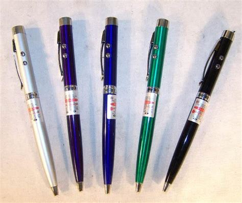 writing pen with led light produs 4 colored laser pointer pen w led light writing