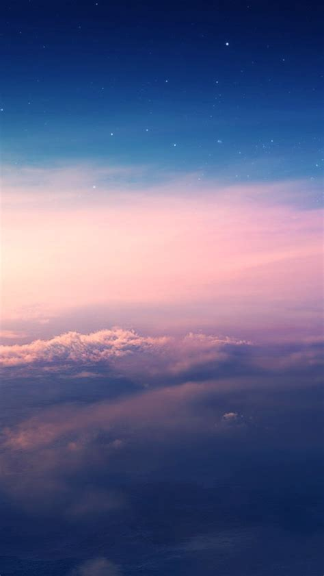 beautiful sky clouds sunset wallpaper iphone wallpaper