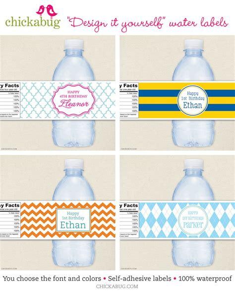 printable label for water bottle custom printables free calendar template 2016