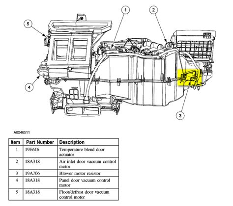 ford blower motor resistor location where is the blower motor resistor located in a 2005 expedition