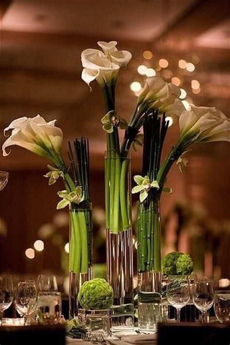 calla centerpieces decora 231 227 o flores copo de leite