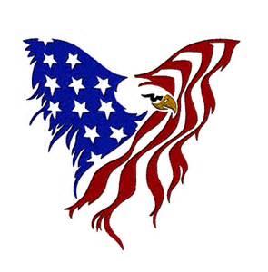 eagle usa flag designs by the stitch