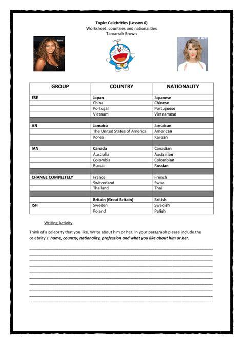 writing biography esl lesson plan 257 free celebrities biographies worksheets