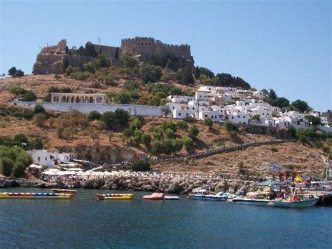 boat trip rhodes to lindos lindos by boat picture of sun palace hotel faliraki