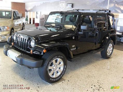Jeep Wrangler Unlimited All Black 2011 Jeep Wrangler Unlimited 70th Anniversary 4x4