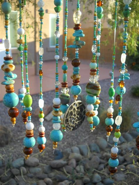 glass bead wind chimes glass beaded windchime