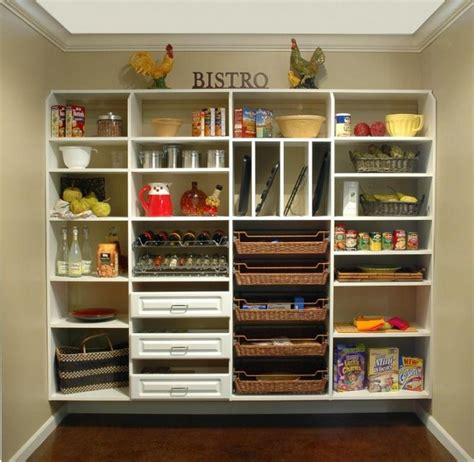 pantry shelf kitchen pantry ideas to create well managed kitchen at home homestylediary com