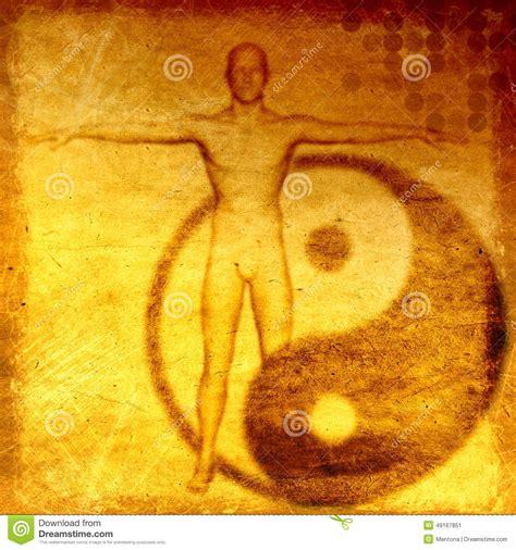 theme wordpress yin yang abstract grunge esoteric background with yin yang symbol