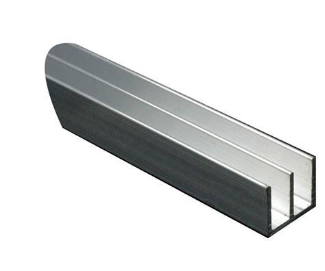 Shower Baths Suites aluminium double u profile h 10mm w 16mm l 1m