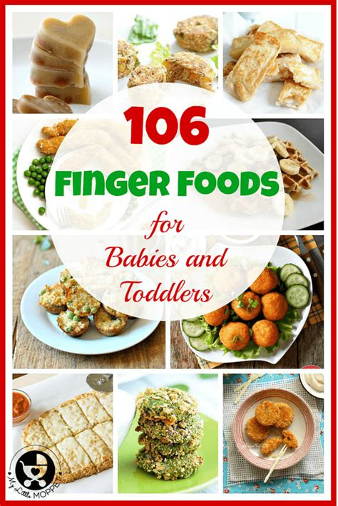 to finger 106 baby finger food recipes