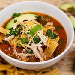 best chicken tortilla soup bake it with love