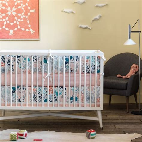 dwell studio floor l liapela modern baby bedding for cribs dwell