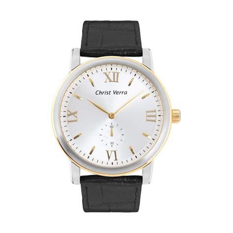Verra Cv 21611l 31 Blk harga verra cv 1900g 31 slv blk blk jam tangan pria