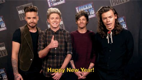 new year gifs 2016 one direction gif by new year s rockin find