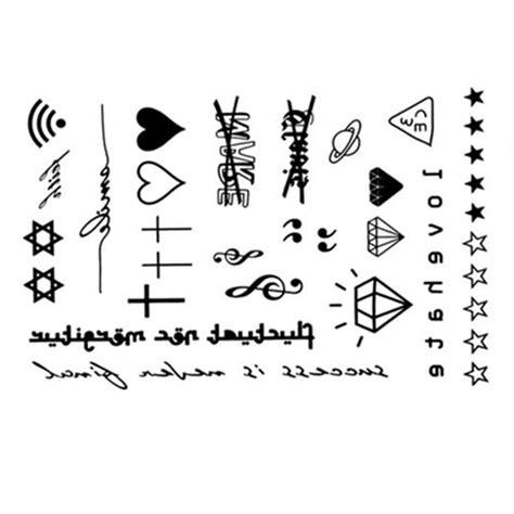 imagenes tatuajes temporales aliexpress com comprar yeeech tatuajes temporales