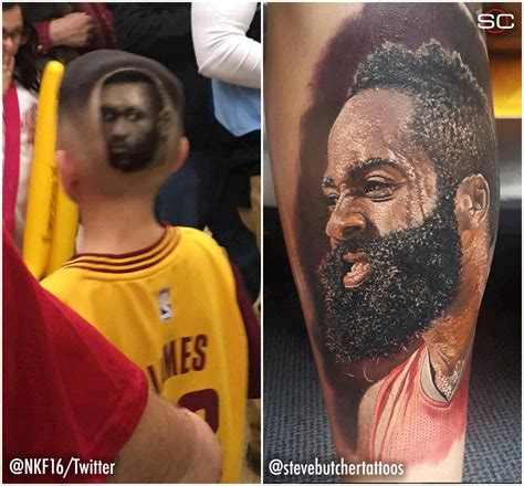 james harden tattoos sportscenter on quot these are some dedicated