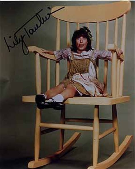 Tomlin Rocking Chair by Tomlin Edith 8x10 Photo Signed