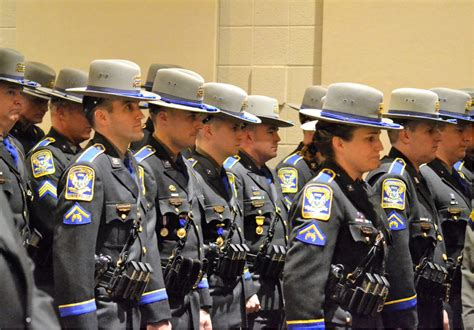 Ct State Arrest Records Meriden The Connecticut State Promoted 20 Troopers In Front Of