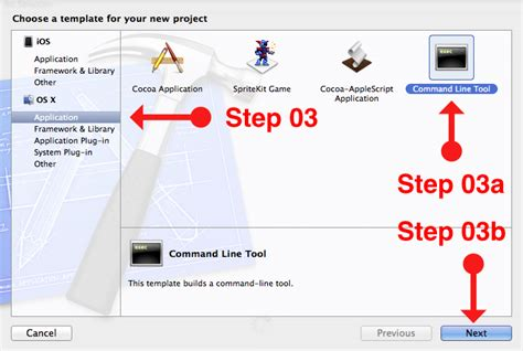 How To Write Language C Or C Program On Macintosh Osx Using Xcode Developer Resource Xcode Project Templates Explained