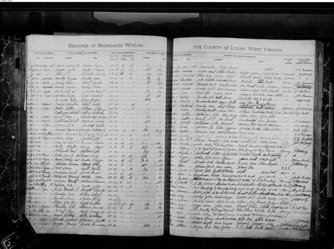 West Virginia Vital Records Marriage West Virginia Vital Research Records Record Image