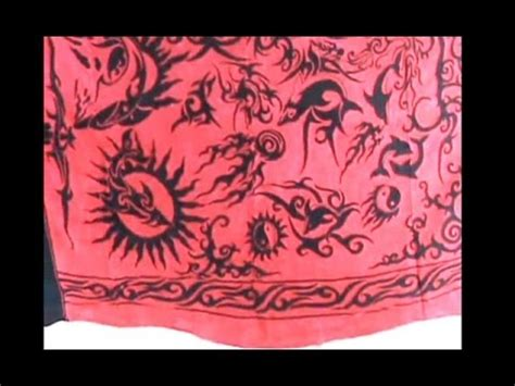 tattoo motif batik batik sarong fuchsia sarong primitive tattoo design