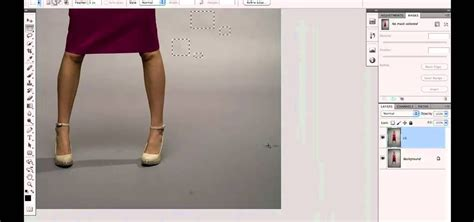 adobe photoshop cs5 retouch tutorial how to clean up the background when retouching a fashion