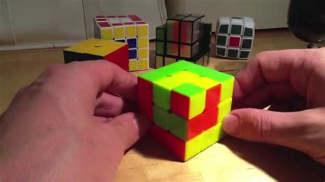 How To Make A Rubix Cube Out Of Paper - rubik s cube pattern s cube in a cube in a cube 3x3x3