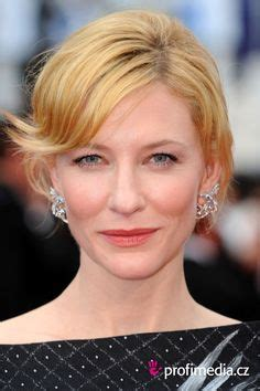 Get The Look Cate Blanchetts Feathered Tresses 2 by Carpet 2014 Cate Blanchett Sag Awards And