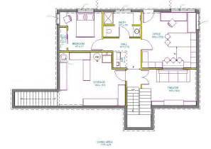 Basement Design Plans Walkout Basement Floor Plans One Story Floor Plans With