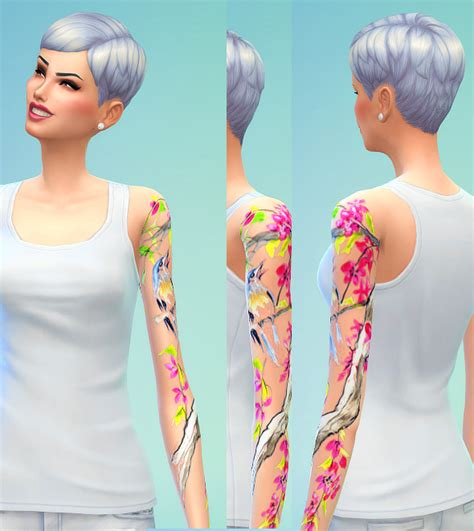 sims 4 tattoos seventhecho tattoos sims 4 downloads