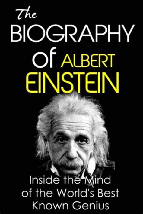 celebrity biography books list the biography of albert einstein the workings of a genius