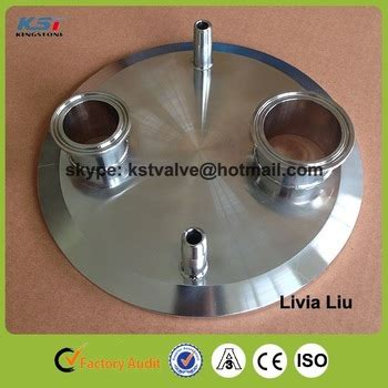 Sanitary Ss304 Dia 6 Inch ss316l ss304 sanitary tri clover customized lid 8 inch for shatter platter buy sanitary tri
